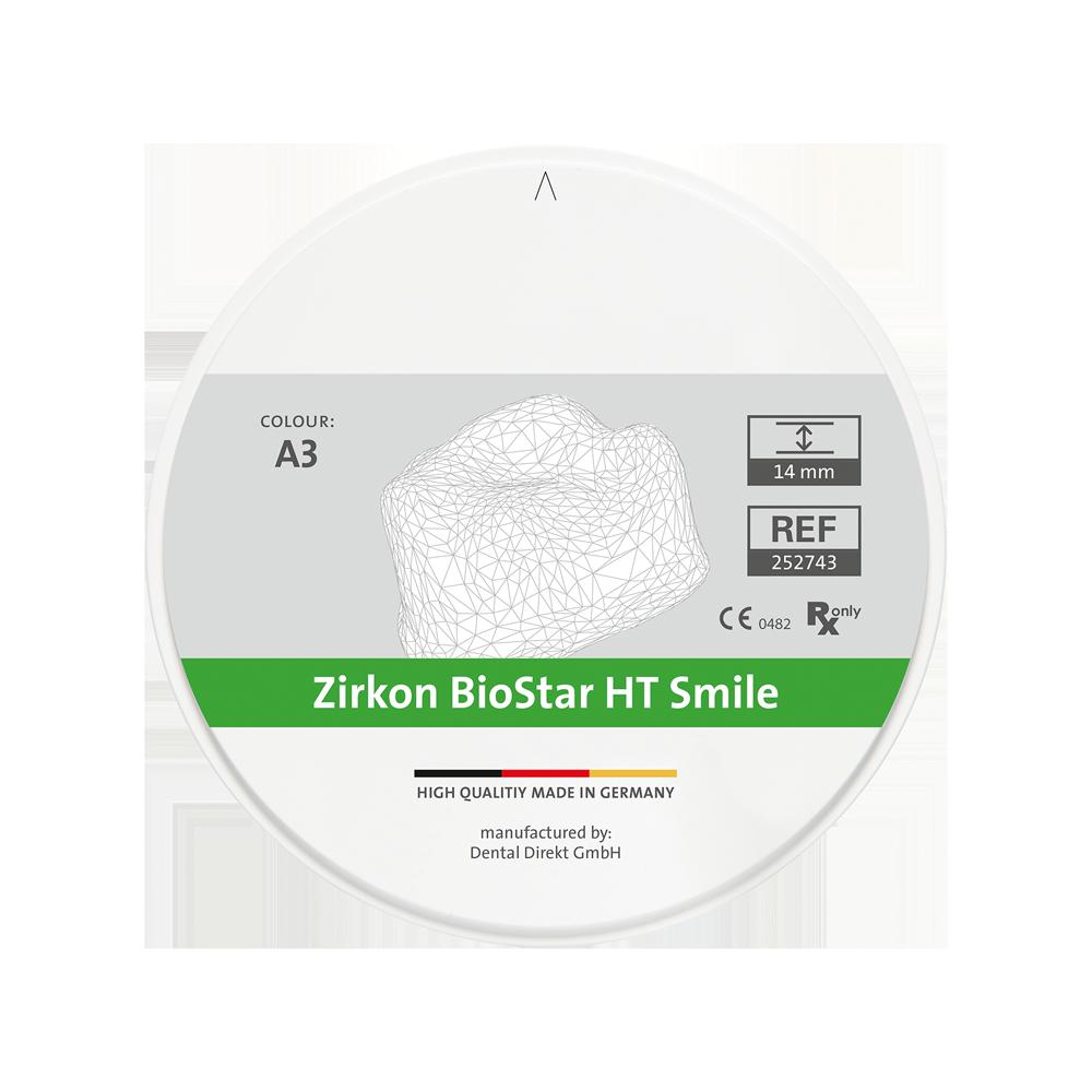 Zirkon BioStar HT Smile Colour Ø 98.5 mm