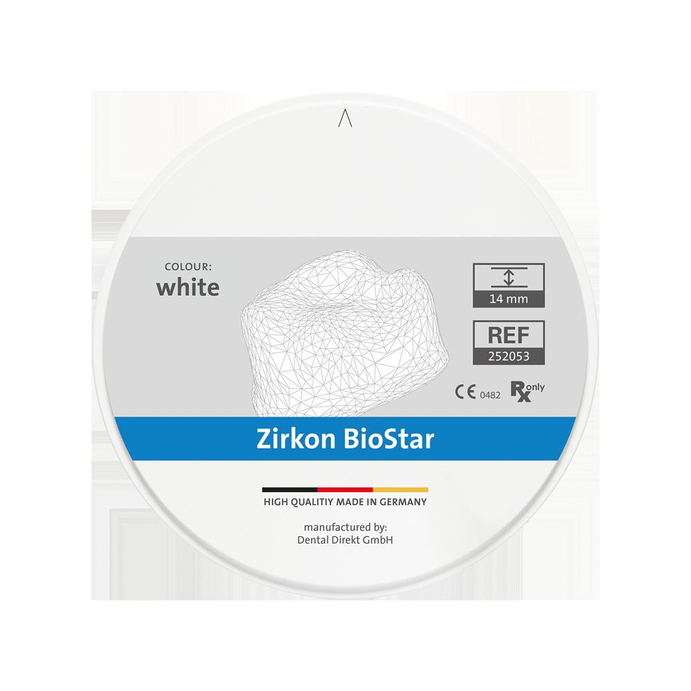 Zirkon BioStar Ø 98.5 mm, weiß