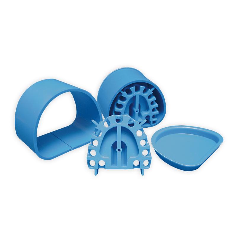 Spardublierküvetten, blau