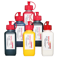 SilaPoly Colour Set - 6x 100 ml Dosierflasche
